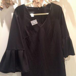 NWT Donna Morgan Black Cocktail Dress